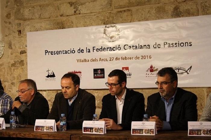 Patronat de la Passió d´Ulldecona > <b>notícies</b> > Acte constitució Federació Catalana de Passions