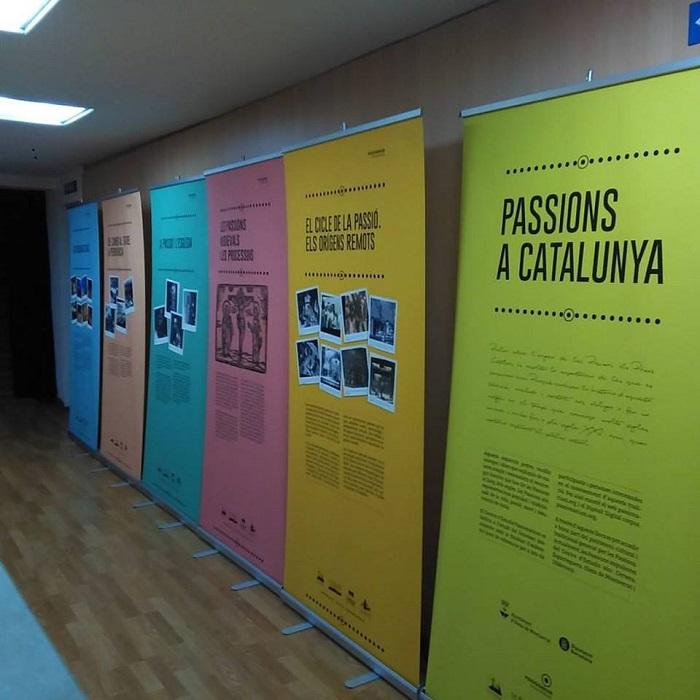 Patronato de la Passió d´Ulldecona > <b>noticias</b> > Exposición Pasiones en Cataluña