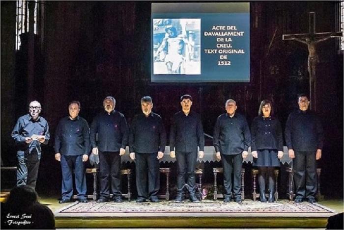 Patronat de la Passió d´Ulldecona > els espectacles > Presentació de l'acte del Davallament de la Passió d'Ulldecona