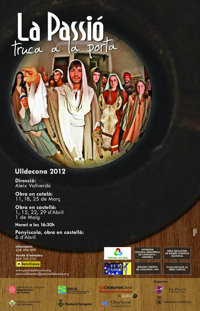 Patronat de la Passi dUlldecona > <b>notcies</b> > LA PASIN 2012 A PESCOLA